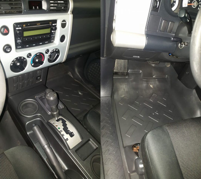 Toyota Interior - After